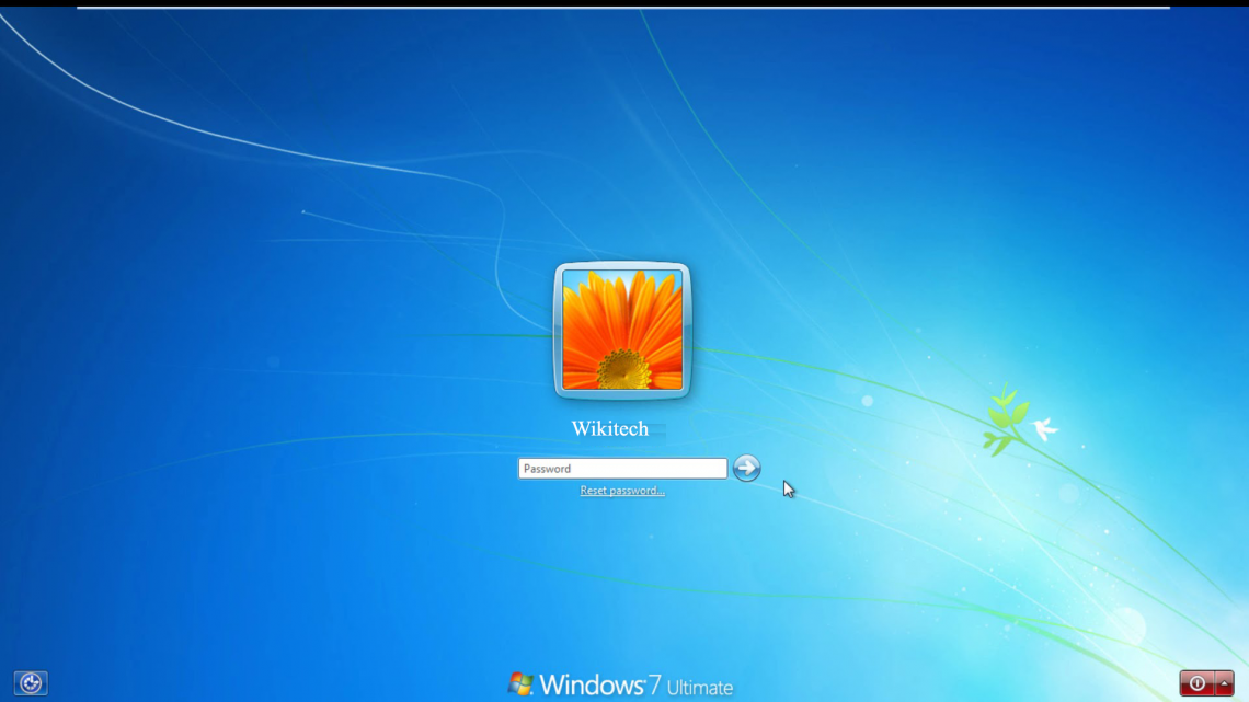 recovory password windows 7