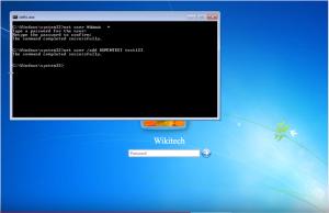 reimpostare password wikitech