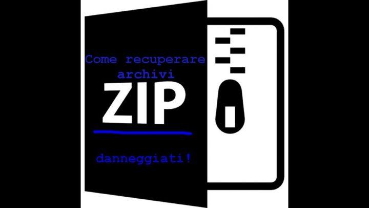 aprire archivio danneggiato