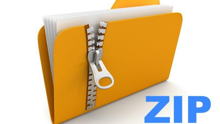 aprire file zip gratis