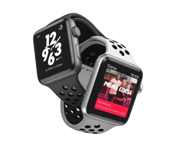caricare batteria apple watch