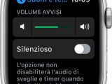 spegnere apple watch