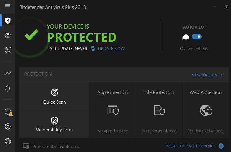 bitdefender-2018-interface