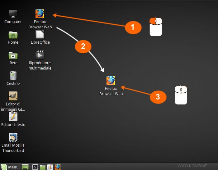 come effettuare lo spostamento di una icona con il mouse desktop.gif