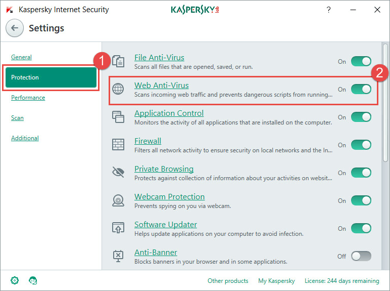 escludere file da kaspersky e cartelle.png