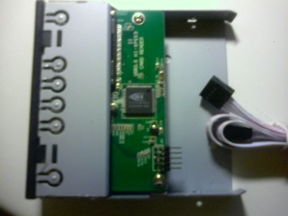 montaggio card reader