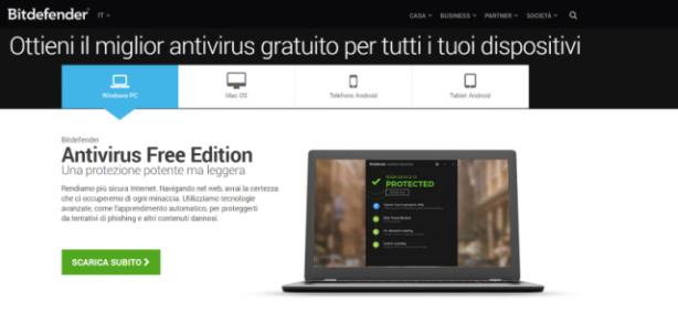 programma antivirus leggero