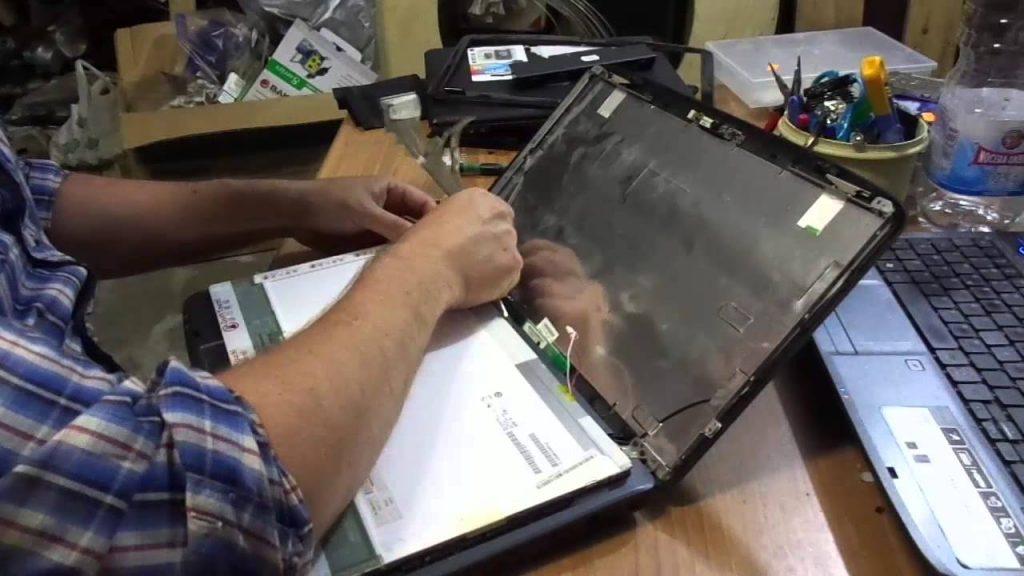 riparare lcd notebook cavo flat