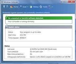 windows 7 escludere file