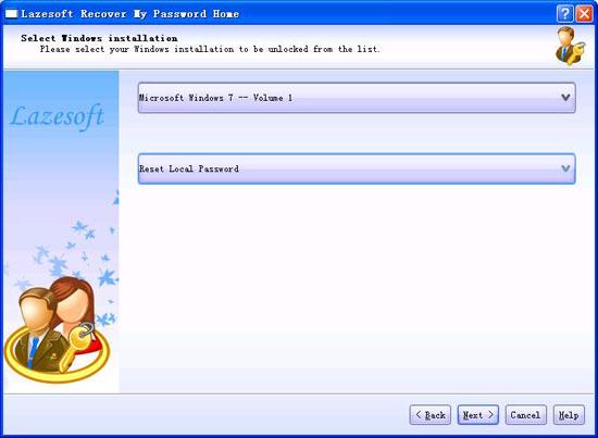 Bypassare password account windows 10-LAZESOFT