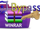bypassare password winrar