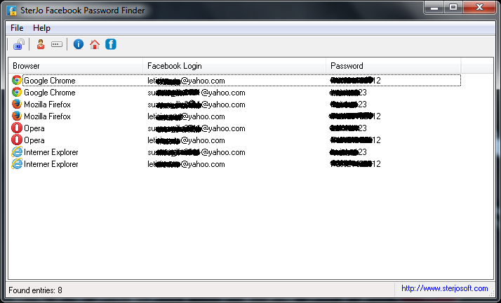 bypassare password winrar - finder