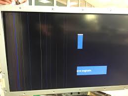 controllare scheda video linee verticali