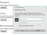 togliere password avvio windows 10