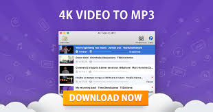 4K VIDEO TO MP3 - convertire video in mp3