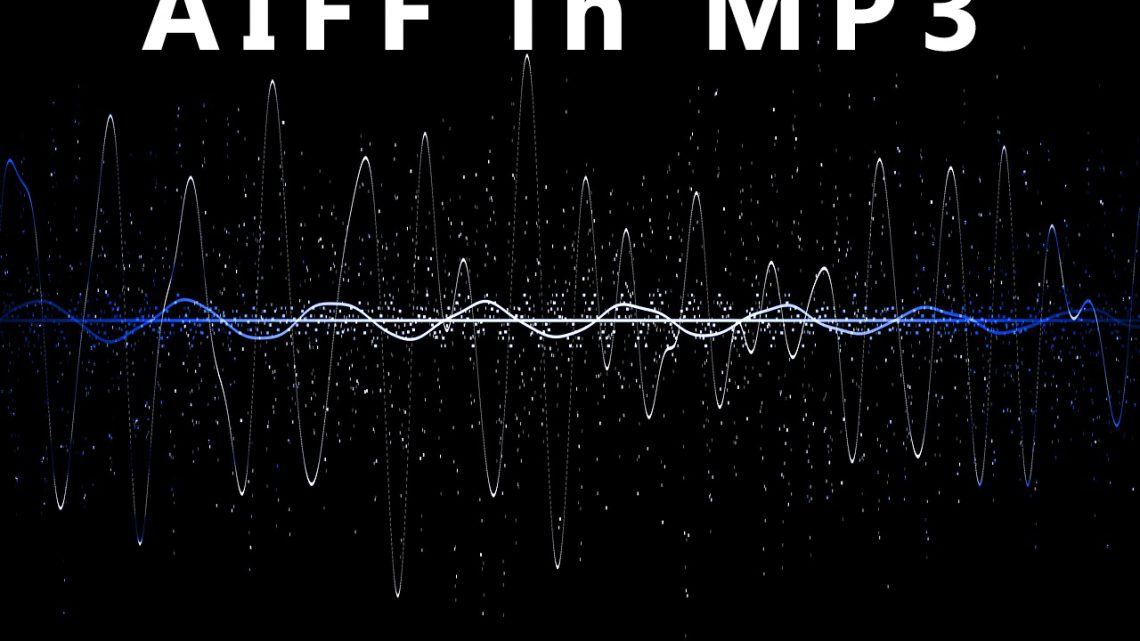 Convertire file aiff in mp3
