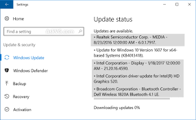 Installare driver su windows 10 con windows update