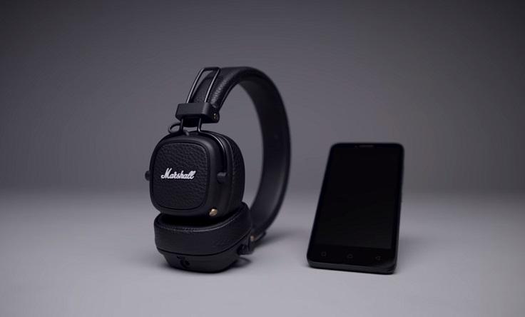 recensione delle migliori cuffie bluetooth Marshall Major III Bluetooth
