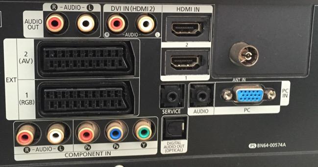 collegare cuffie alla tv