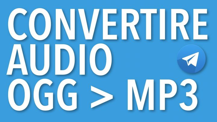 convertire file audio online