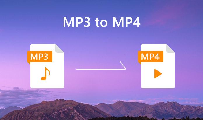 convertire mp3 in mp4