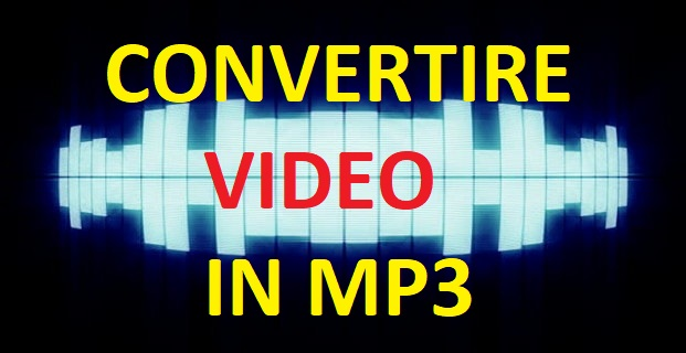 convertire video in mp3