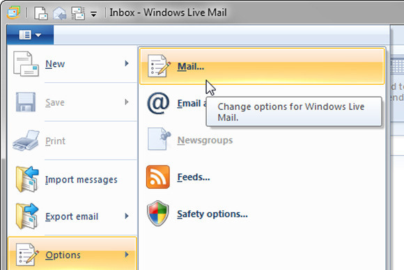 installare windows live mail-usare