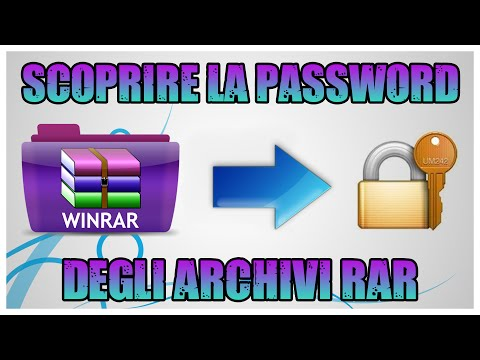 oltrepassare password winrar