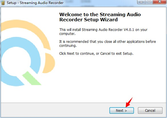 registratore audio in streaming