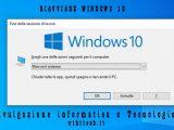riavviare windows 10 in ogni situazione
