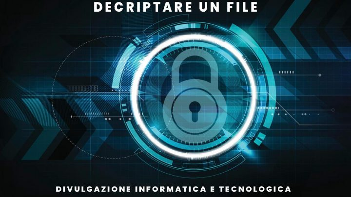 Decriptare un file