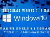 Trasformare windows 7 in mac