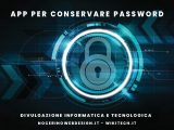 app per conservare password