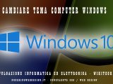 cambiare tema computer windows