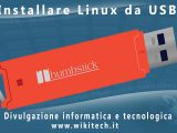 Installare linux da Penna USB