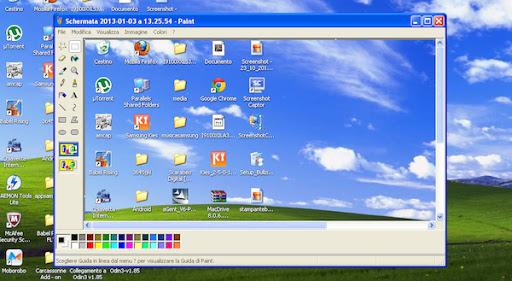come fotografare il desktop