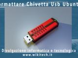 formattare chiavetta usb in ubuntu
