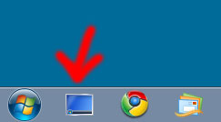 icona mostra desktop