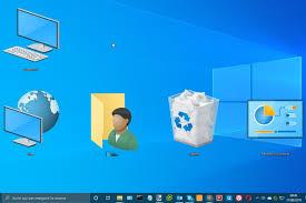 rimpicciolire icone desktop