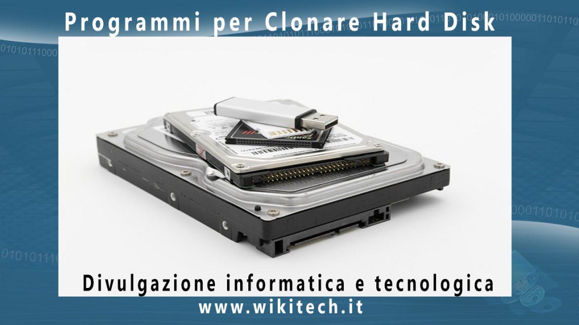 programmi per clonare hard disk