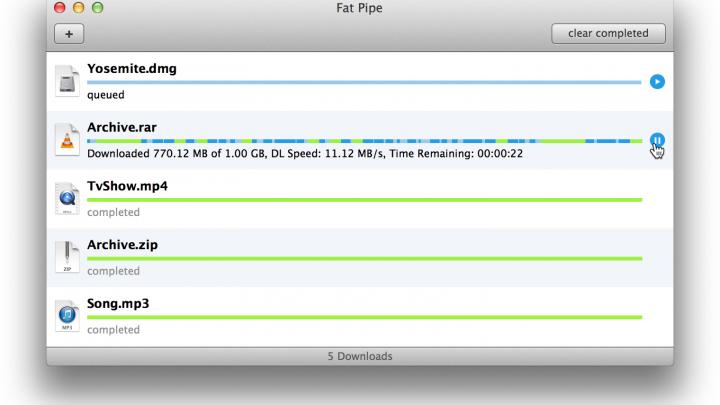 velocizzare download del mac