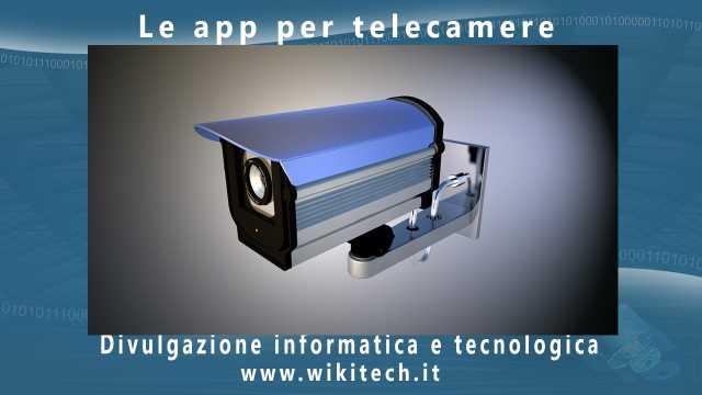 Le app per telecamere