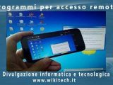 Programmi per accesso remoto