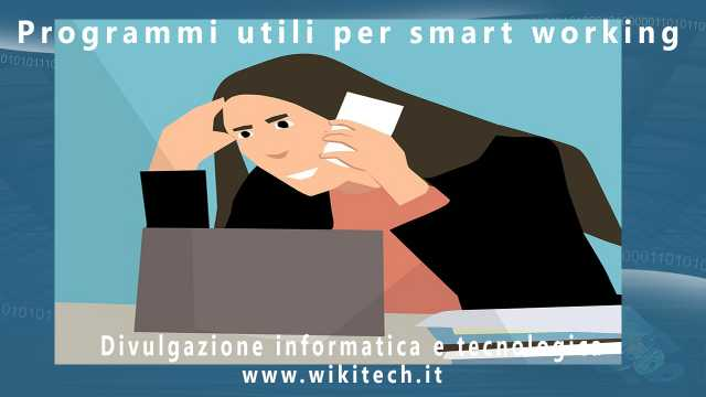 Programmi utili per smart working