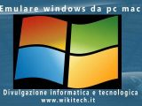 Emulare windows da pc mac