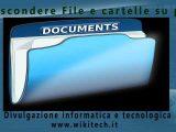 nascondere File e cartelle su pc